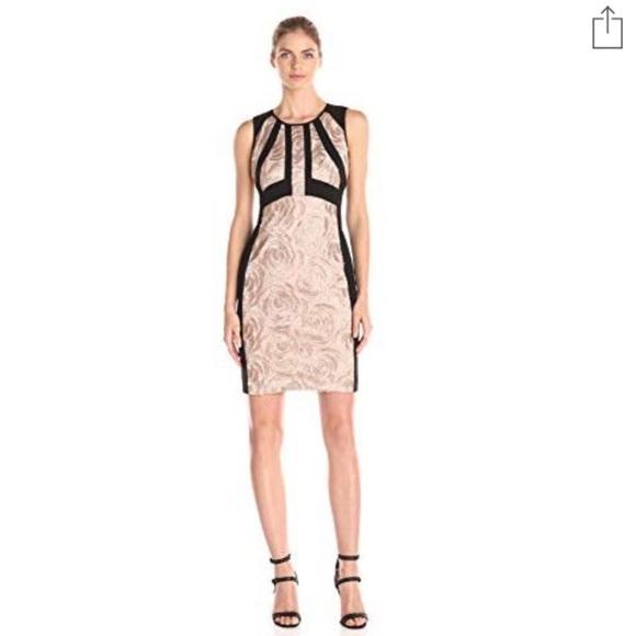 a4cd3962 Ivanka Trump Dresses   Rose Gold Lace Bodycon Dress Sz 16   Poshmark